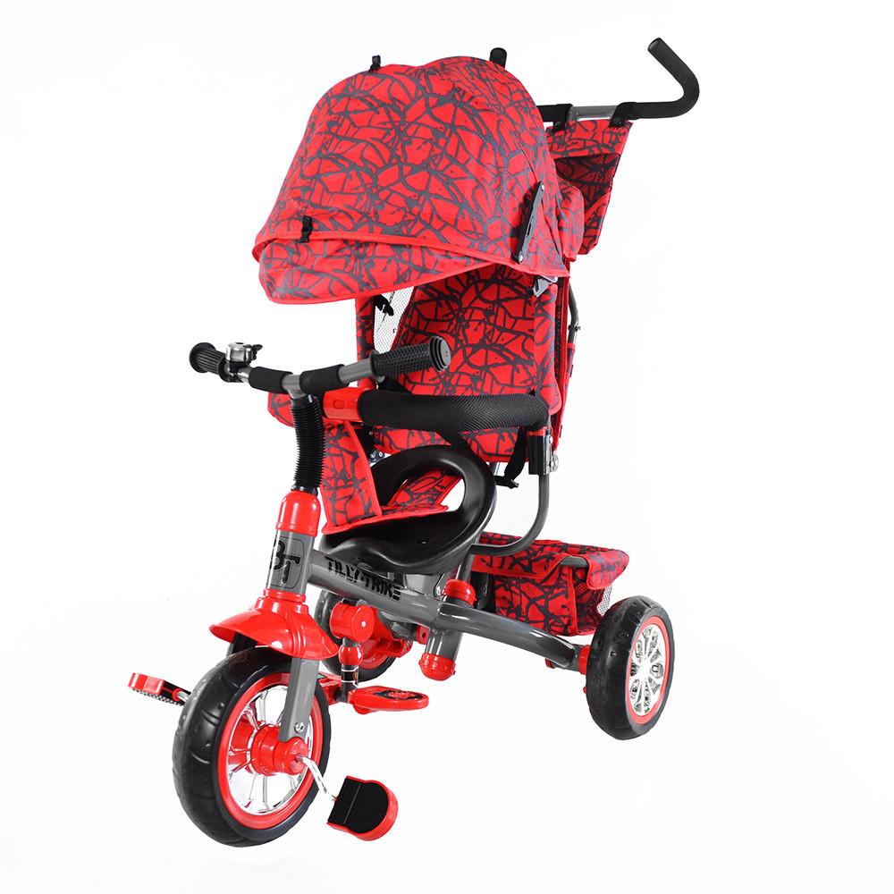Велосипед трехколесный Baby Tilly T-341 красный