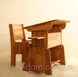 Комплект «Парта+стул» (дуб) С888+С887. киев