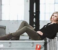 Стильные зауженные брюки Favourite р.42 ТСМ Чибо, фото 1