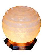 Бахмут Соляной светильник Сфера 6 - 7 кг обычная лампа
