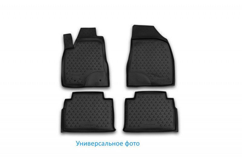 Килимки в салон для Peugeot 308, 2014->, 4 шт поліуретан 3D D000000197