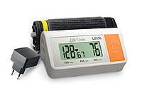 Автоматический  тонометр на плечо Little Doctor с блоком питания в комплекте.