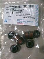 Сальники клапанов к-т 1.5 Ланос Нексия (оригинал) GM Корея