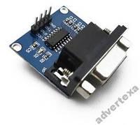 RS-232 UART TTL конвертер на чипе MAX3232