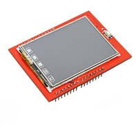 """Сенсорный дисплей 2,4"""" TFT для Arduino Uno R3"""
