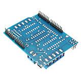 Motor Shield на чипах L293D мотор шилд для Arduino, фото 2