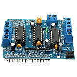 Motor Shield на чипах L293D мотор шилд для Arduino, фото 4