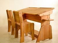 Парта для школьников на 2 места (без стульев) C 888-2. киев