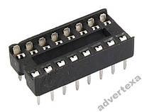 10 штук панелек для микросхем IC гнезда dip 16 pin