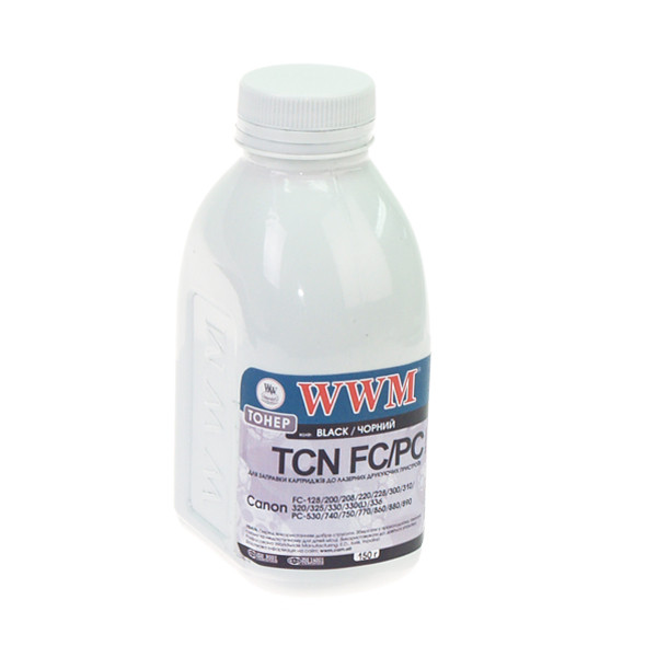 Тонер WWM для Canon FC-128/230/310/330 бутль 150г (TB78-1)