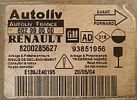 Блок управления AirBag сенсор Renault Trafic 8200435346A, 8200435346 AUTOLIV 605488000 2001-2014гг, фото 1