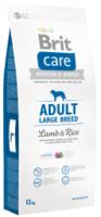Сухой корм для взрослых собак крупных пород Brit Care Adult Large Breed Lamb & Rice 12 кг.