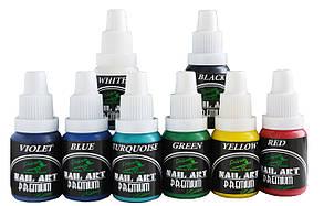 Краска для ногтей PREMIUM* Nail-Art* Water series (набор 8х15ml)