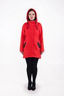 TM Ozze Пальто женское Д 122 шерсть красное