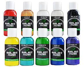 Краска для ногтей PREMIUM* Nail-Art* Water series (набор 10х30ml)