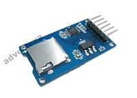 Модуль для чтения и записи микро SD карт Arduino