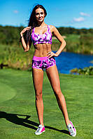 Designed For Fitness. Спортивный костюм Como Pink Shorts, фото 1