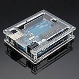 Корпус для Arduino Uno и Leonardo акрил прозрачный, фото 2