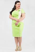 ТМ Ghazel Платье Оникс лето салатовое 10378/8 Ghazel