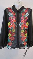Жоржетовая блузка р. L от Takko Fashion Германия, фото 1