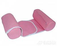 Подушка ограничитель для новорожденных OLVI, розовый, фото 1
