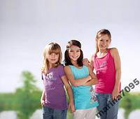 Фиолетовая футболка р.110/116 от  ТСМ Tchibo Германия