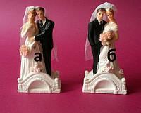 Свадебная фигура маленькая(на мостике) 104094 Аи В(код 02279)