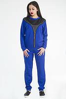 ТМ Ghazel Спортивный костюм женский Змейка синий Ghazel