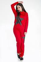 ТМ Ghazel Спортивный костюм женский Звезда красный Ghazel