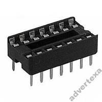 10 штук панелек для микросхем IC гнезда dip 14 pin