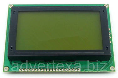 Дисплей LCD12864 128х64 зеленый для Arduino