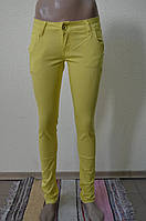 Цветные женские брюки  RE-3659-2
