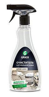 ОЧИСТИТЕЛЬ НАТУРАЛЬНОЙ КОЖИ GRASS LEATHER CLEANER - 0,5 Л- ТРИГЕР.