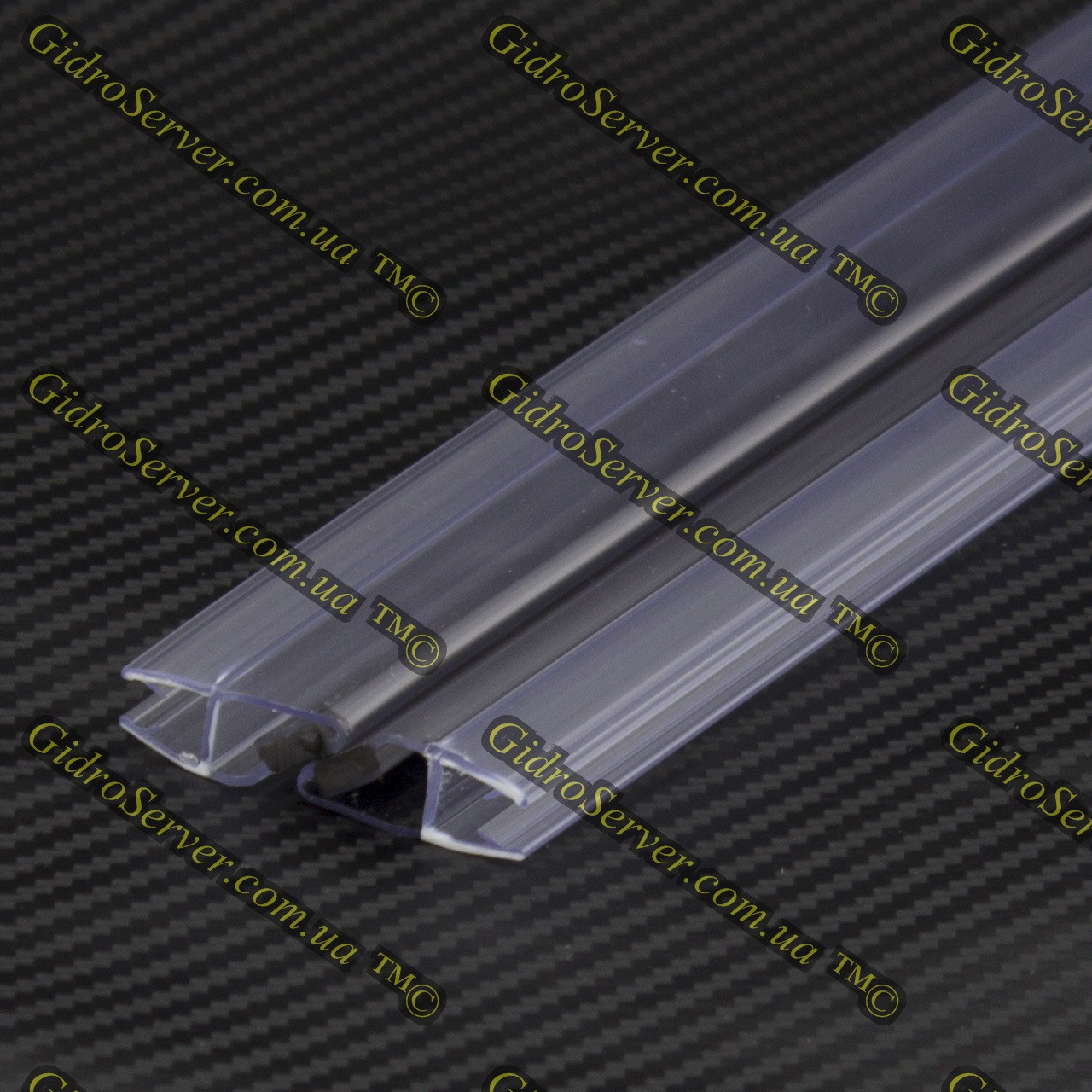 Уплотнитель для душевой кабины, гидромассажных боксов с магнитной вставкой UM-01.