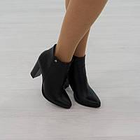 Ботинки из натуральной кожи черный , фото 1