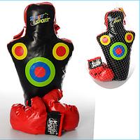 Боксерский набор M 1045 со звуковыми ударами