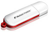 USB флешка SiliconPower LuxMini 320 32Gb White ( SP032GBUF2320V1W ), фото 1