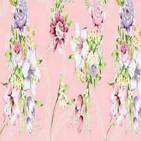 Тик Розовые цветы