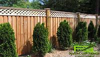 Деревянный забор, фото 1