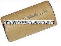Банка Ni-CD 1700 mAh 1.2V аккумулятора для шуруповерта