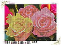 Вышивка бисером Розы схема
