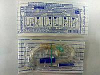 Система вливания растворов (устройство ПР) металлическая игла / Гемопласт
