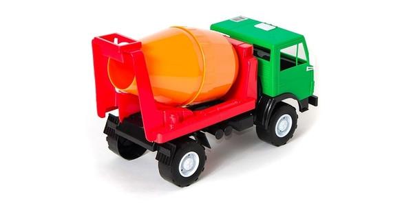 Машина бетономешалка Х2, ТМ Орион - Mega Toys Ukraine Интернет магазин игрушек и товаров для детей с доставкой по Украине в Днепре