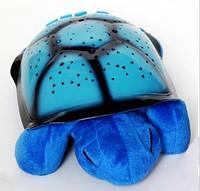 Проектор звездного неба ночник Черепаха синяя , детский светилньик