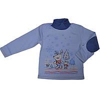 Гольф Зимняя сказка детский для мальчика