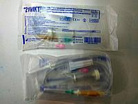 Медицинская капельница (система ПР) металлическая игла / 21 VIKT
