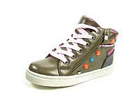 Детские ботинки Clibee TS-P-70 св.Корич (Размеры: 27-32)