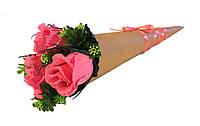 Букет из конфет Кулечек с розами