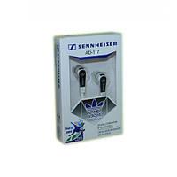 Вакуумные наушники Sennheiser AD-117 Black  , гарнитура