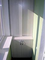 Шкаф на балкон с раздвижной системой киев